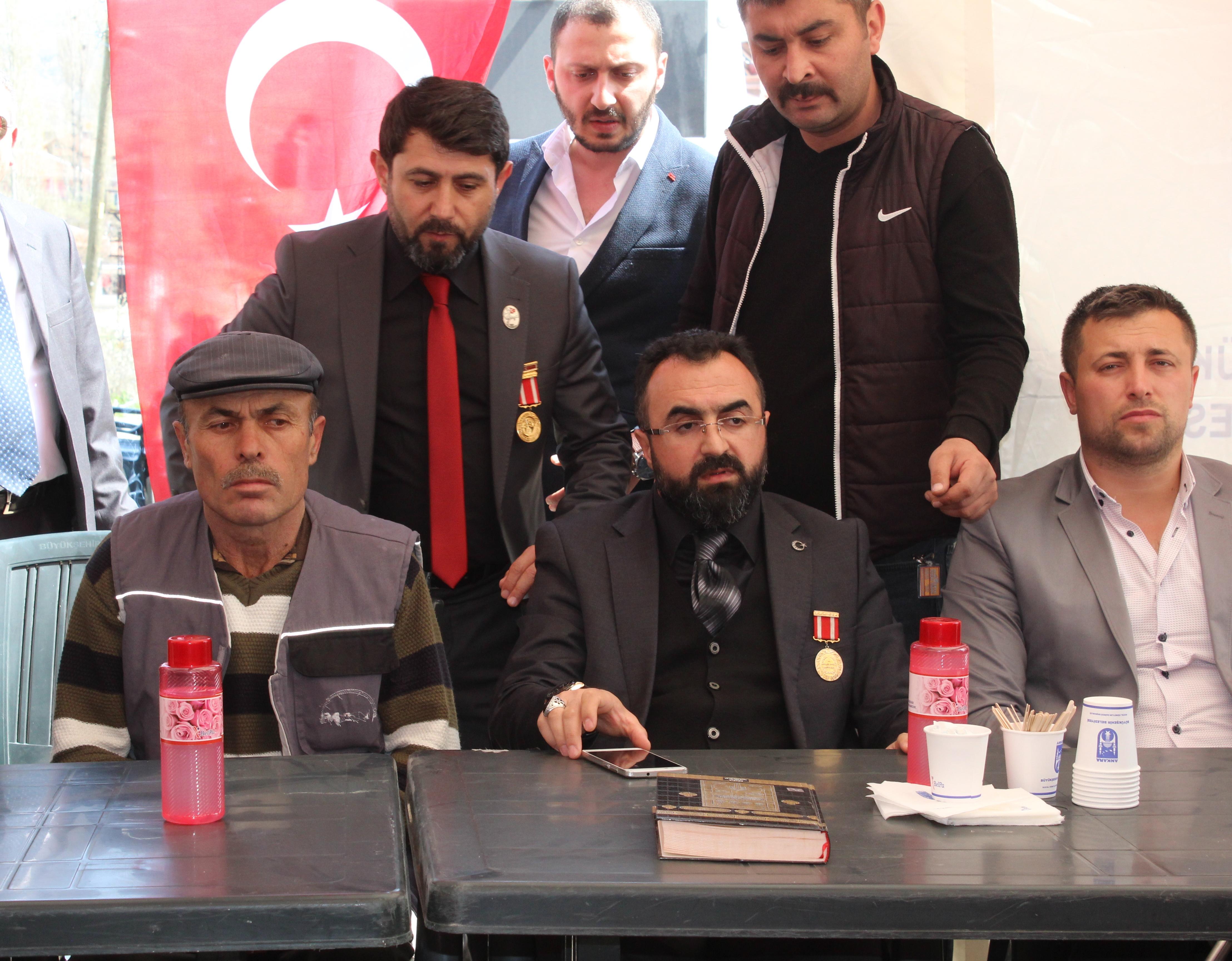Şehit Yener Kırıkcı ailesine taziye ziyareti AHaber