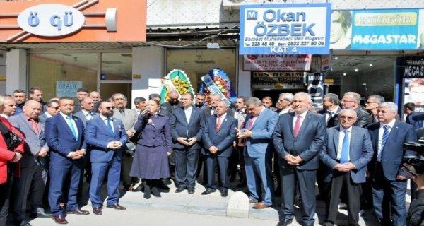 Gaziler ve Şehit Aileleri Vakfı Malatya Şubesi açıldı