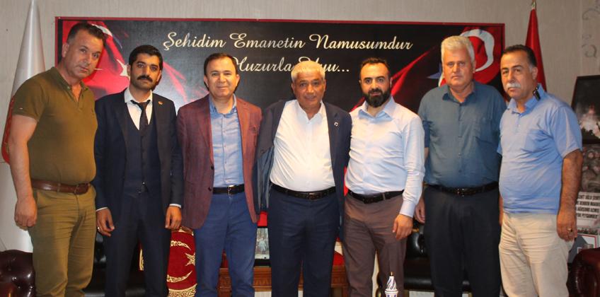 Köy Koruyucuları Federasyon Başkanı Ali Haydar Yener ziyareti