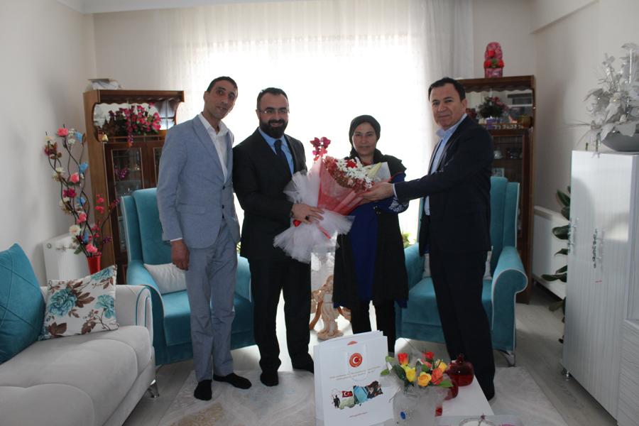 15 Temmuz Gazimiz Erhan TAŞ beyefendi ve Saygıdeğer Annesine Ziyarette Bulunduk