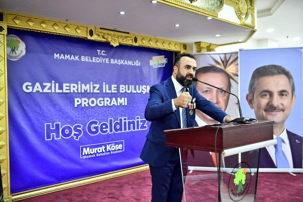 Mamak Belediye Başkanı Murat Köse, 'Gaziler Günü' kapsamında ilçedeki gazilerle bir araya geldi.