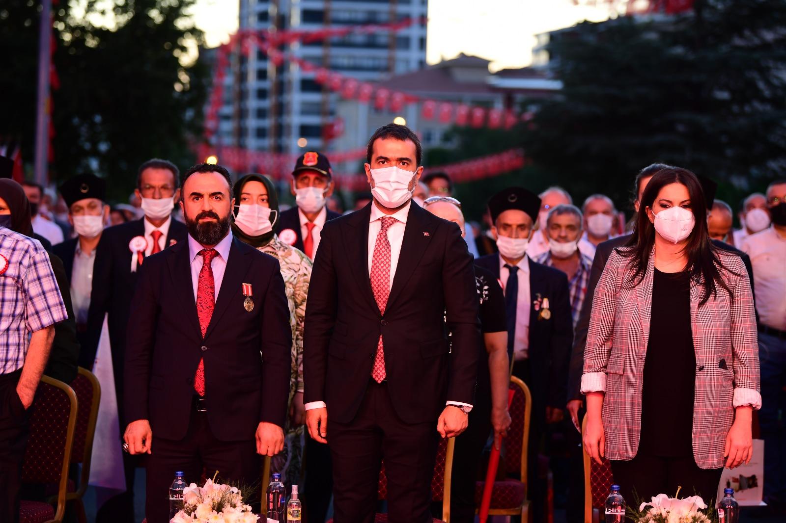 15 Temmuz Demokrasi ve Milli Birlik günü Altındağ'da coşkuyla kutlandı