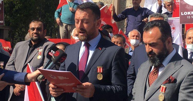 Gazi ve şehit ailelerinden Kılıçdaroğlu'na KHK tepkisi