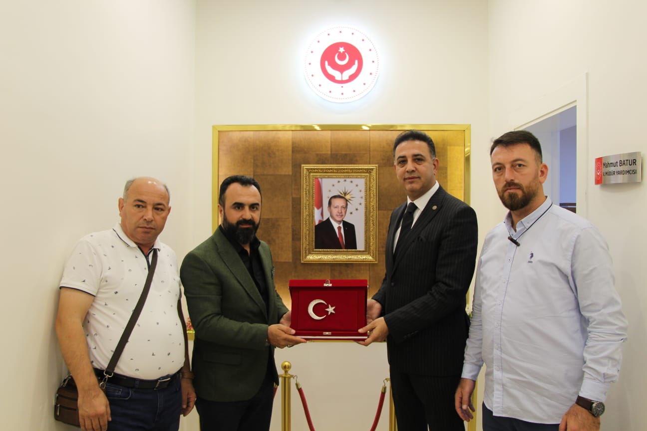 Mardin Aile, Çalışma ve Sosyal Hizmetler İl Müdürülüğüne Ziyaret