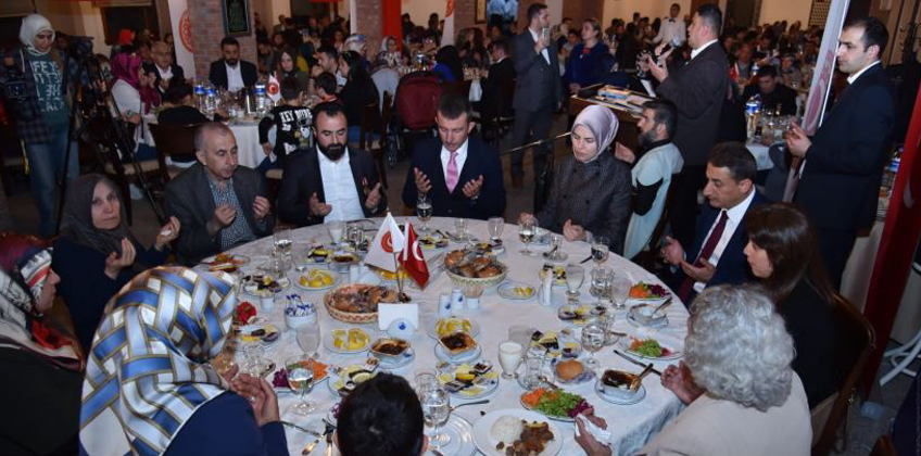 TÜGŞAV'dan şehit annelerine iftar