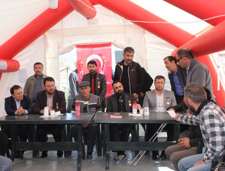 TÜGŞAV'dan Şehit Yener Kırıkçı'nın ailesine taziye ziyareti