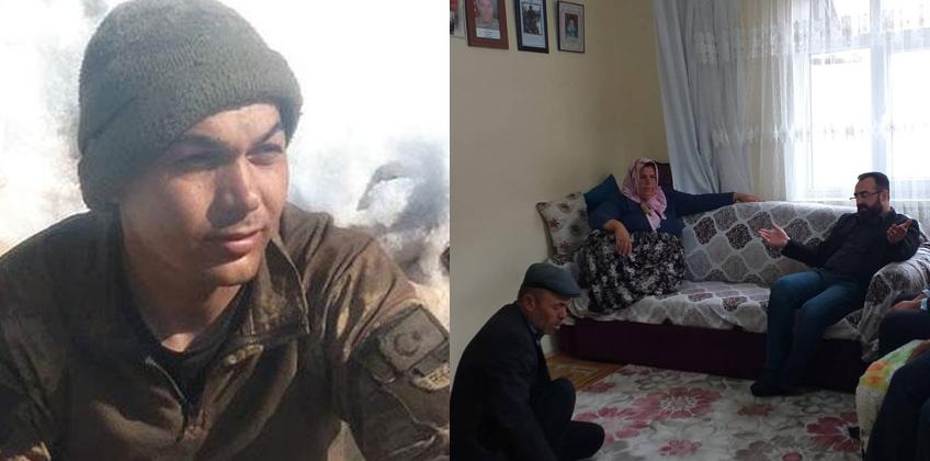 Şehit Yener Kırıkçı'nın ailesini ziyaret ettik
