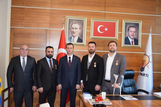 Ak Parti Genel Sekreteri Sn. Fatih Şahin'i Ziyaret