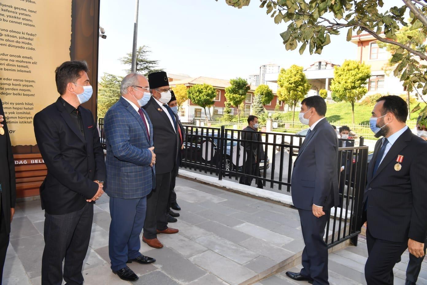 Ankara Valisi Vasip Şahin Vakfımızı Ziyaret Etti.