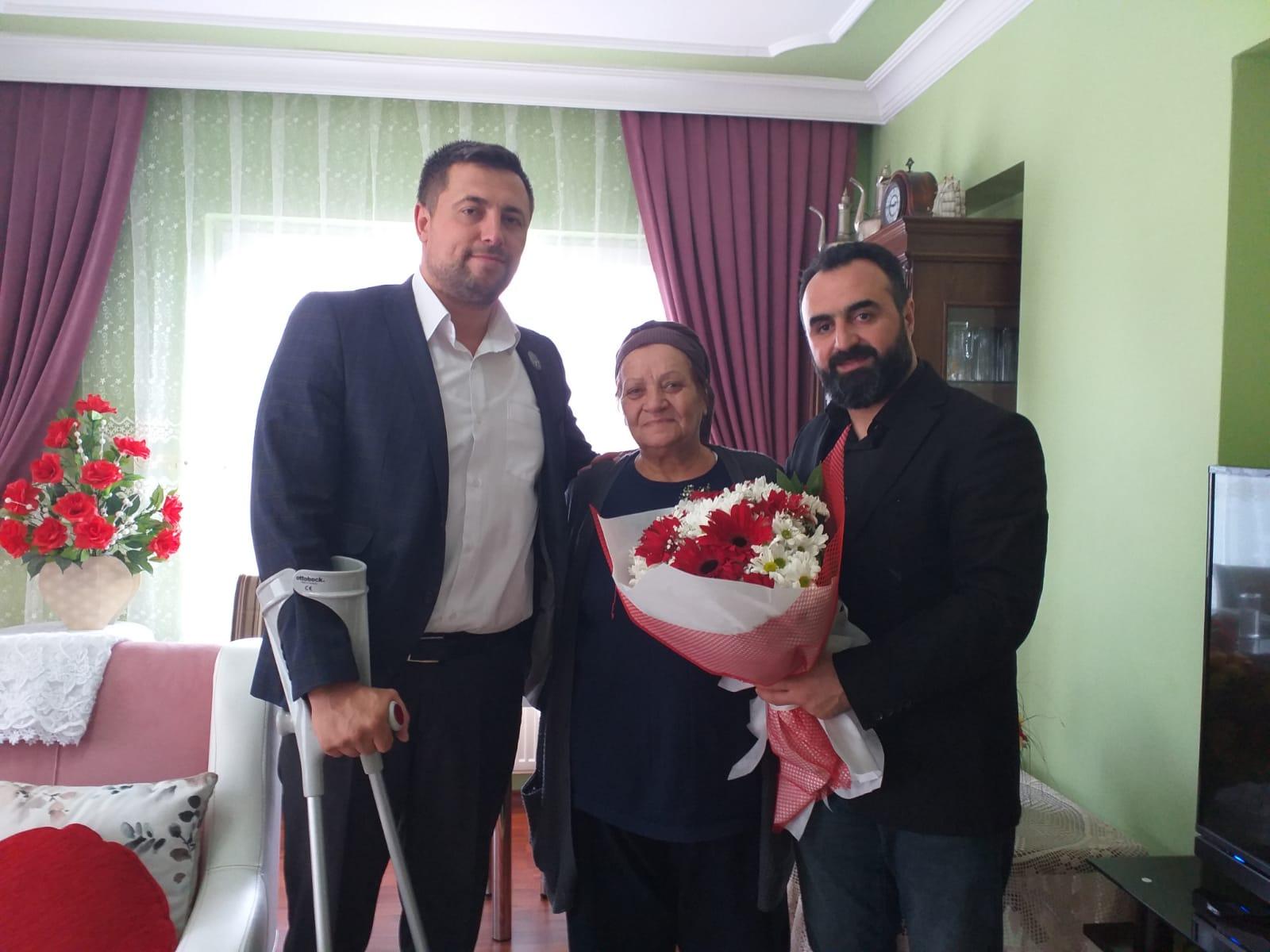'Emanetiniz Emanetimizdir' Şehit ailelerine ziyaret